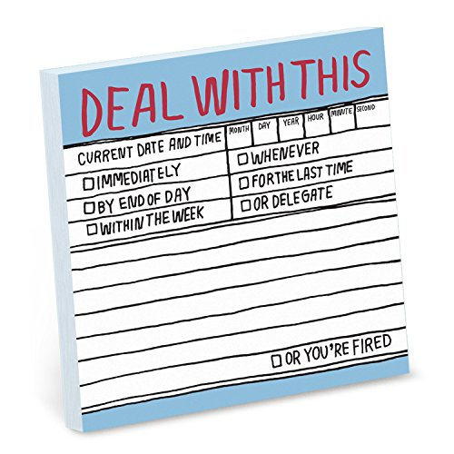 9781601064042: Deal With This: Hl Sticky Note