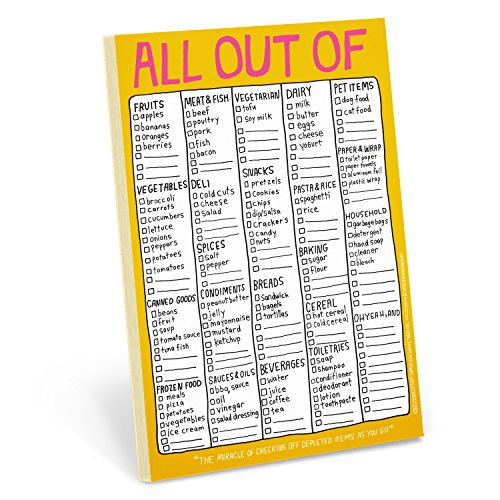 9781601064059: Knock Knock All Out Of Note Pad (Hand-Lettered)