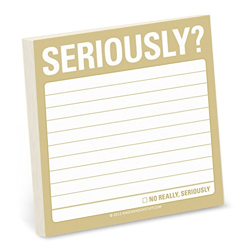 Sticky Note: Seriously? (Simple Stickies)