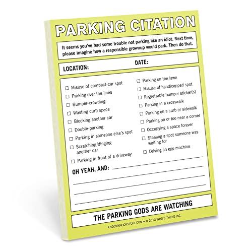 9781601064677: Parking Citation: Nifty Notes