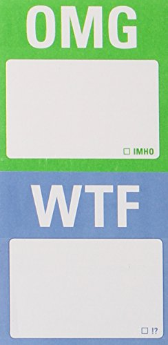 9781601064738: Mini Sticky Notes: WTF