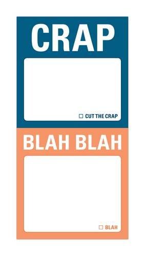 9781601064943: Knock Knock. Mini Sticky Notes - Blah: Blah