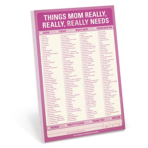 9781601065575: Knock Knock Things Mom Really, Really, Really Needs Note Pad