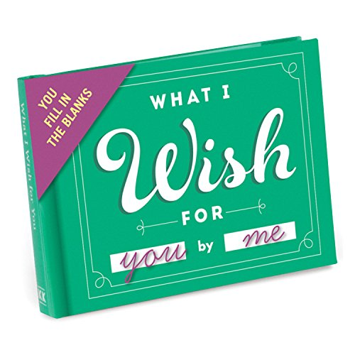9781601065643: What I Wish for You Fill-in-the-Blank Journal