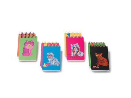 9781601067005: Plumb Notebooks Killer Cat Notepads