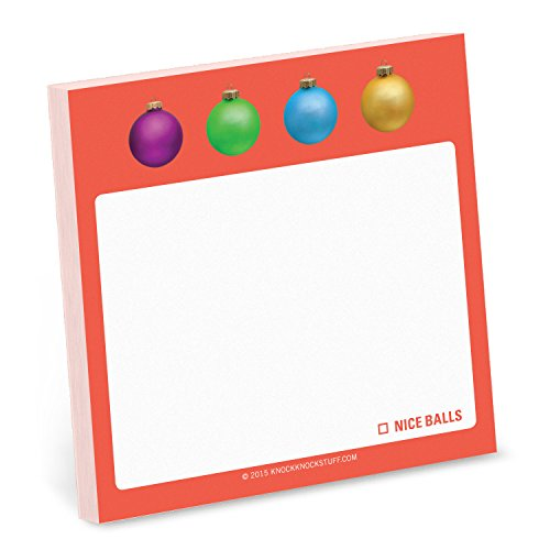 9781601067371: Knock Knock Nice Balls Sticky Note