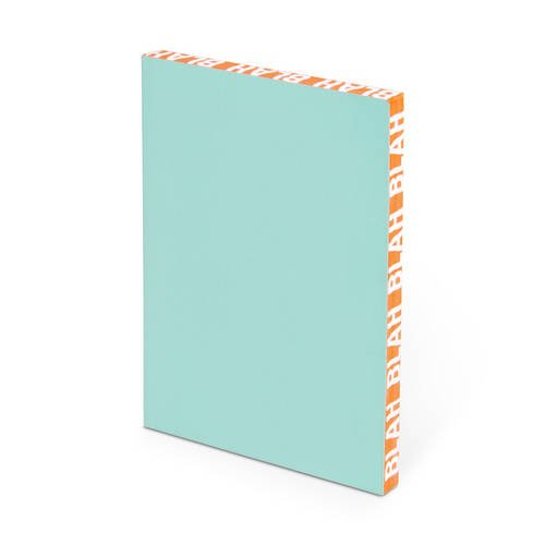 9781601067579: Knock Knock Blah Blah Edge Notebook