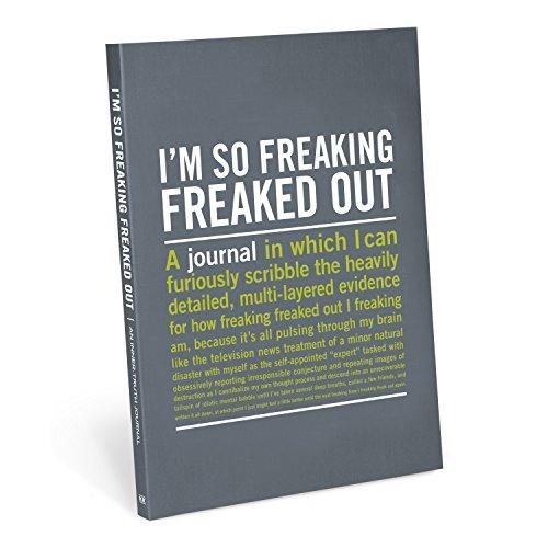 9781601067609: Knock Knock I'm So Freaking Freaked Out Inner-Truth Journal