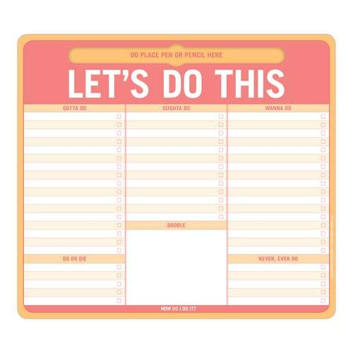9781601068149: Knock Knock Let's Do This Pen-to-Paper Mousepad