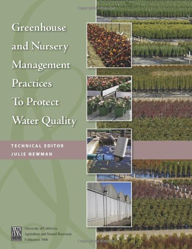 9781601075710: Greenhouse and Nursery Management Practices to Protect Water Quality