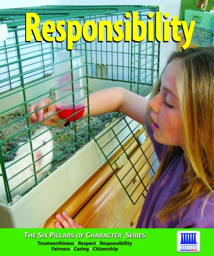 9781601085092: Responsibility (Six Pillars of Character)