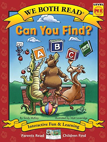 9781601152794: Can You Find? (We Both Read - Level Pk-K): An ABC Book