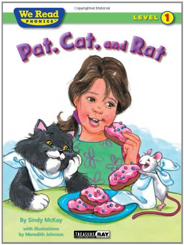 Pat, Cat, and Rat (We Read Phonics - Level 1 (Quality)): Sindy McKay