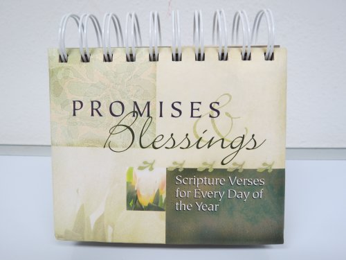 9781601161437: Promises & Blessings: Scripture Verses for Every Day of the Year (Reusable for Every Year)