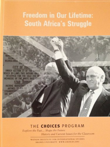 9781601230416: Freedom in Our Lifetime:South Africa's Struggle