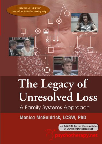 9781601240156: The Legacy of Unresolved Loss: A Family Systems Approach by Monica McGoldrick