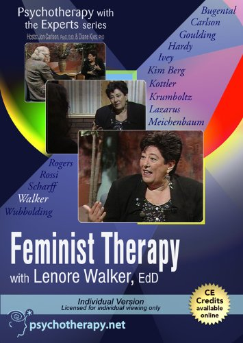 9781601241375: Psychotherapy with the Experts: Feminist Therapy with Lenore Walker, EdD