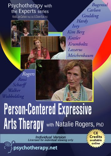 9781601241443: Psychotherapy with the Experts: Person-Centered Expressive Arts Therapy with Natalie Rogersi, PhD