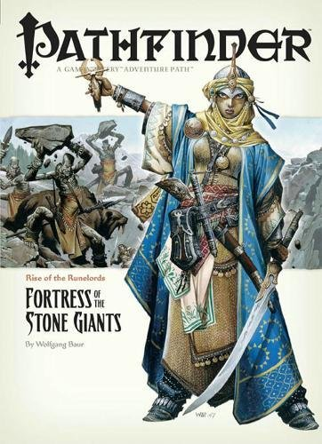 9781601250391: Pathfinder #4 Rise Of The Runelords: Fortress Of The Stone Giants (Pathfinder; Rise of the Ruinlords)