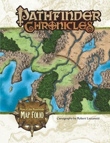 Pathfinder Chronicles: Rise of the Runelords Map Folio: Lazzaretti, Rob