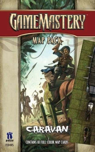 GameMastery Map Pack: Caravan: Staff, Paizo
