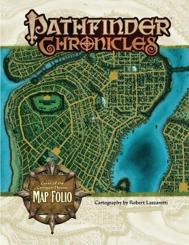 9781601251169: Curse of the Crimson Throne Map Folio (Pathfinder Chronicles)