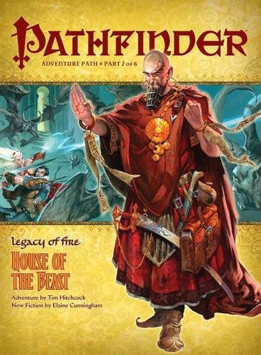 9781601251602: Pathfinder Adventure Path 2, Legacy of Fire: House of the Beast