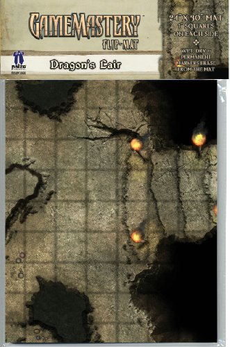 9781601251633: GameMastery Flip-Mat: Dragons Lair (GameMastery Map Pack)