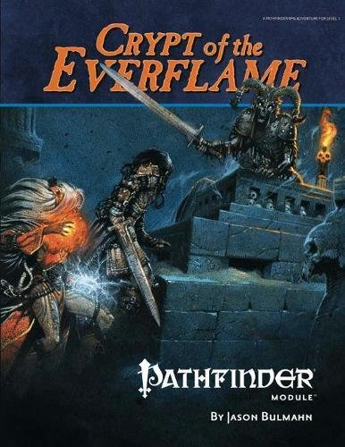 9781601251862: Pathfinder Module: Crypt of the Everflame (Pathfinder Modules)
