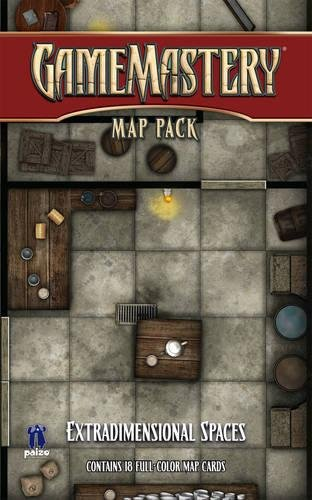 9781601252098: GameMastery Map Pack: Extradimensional Spaces