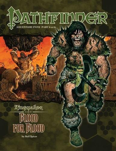 9781601252517: Pathfinder Adventure Path: Kingmaker Part 4 - Blood for Blood