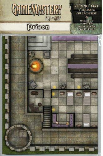 GameMastery Flip-Mat: Prison: Corey Macourek