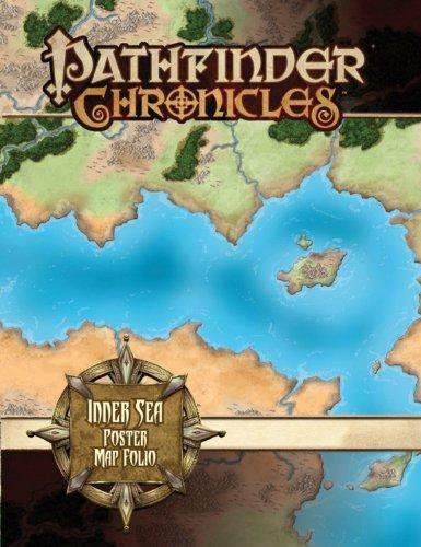 Pathfinder Chronicles: Inner Sea Poster Map Folio: Lazzaretti, Rob
