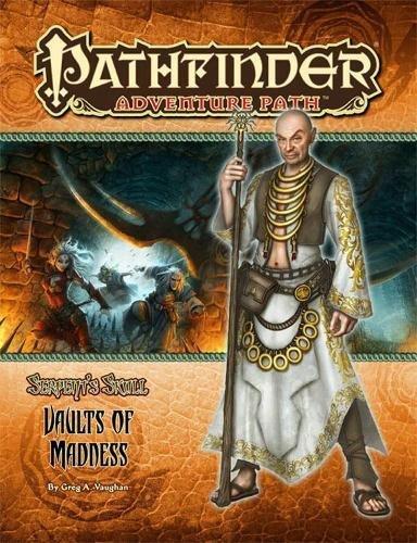 9781601252753: Pathfinder Adventure Path: The Serpent's Skull Part 4 - Vaults of Madness (Adventure Path Part)