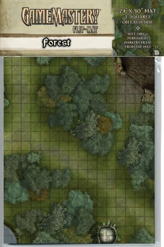 GameMastery Flip-Mat: Forest: Macourek, Corey; Paizo Publishing