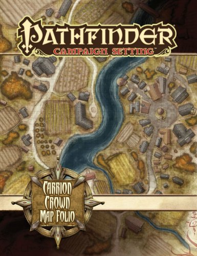 9781601253064: Pathfinder Campaign Setting: Carrion Crown Poster Map Folio