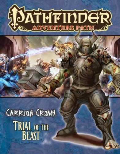 9781601253095: Pathfinder Adventure Path: Carrion Crown Part 2 - Trial of the Beast