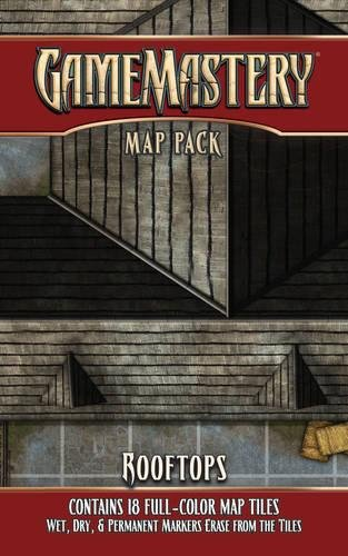 9781601254542: GameMastery Map Pack: Rooftops