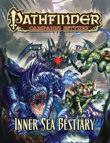9781601254689: Pathfinder Campaign Setting: Inner Sea Bestiary