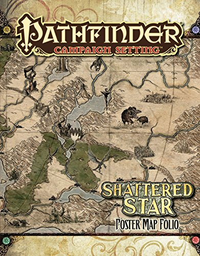 9781601255051: Pathfinder Campaign Setting: Shattered Star Poster Map Folio
