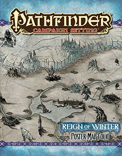 9781601255426: Pathfinder Campaign Setting: Reign of Winter Poster Map Folio