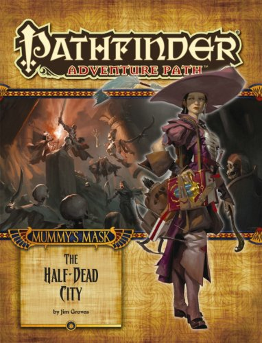 9781601255884: Pathfinder Adventure Path: Mummy's Mask Part 1 - The Half-Dead City
