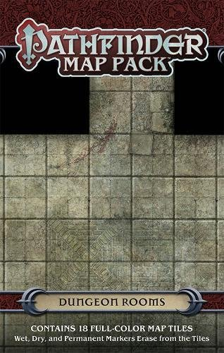 9781601256218: Pathfinder Map Pack: Dungeon Rooms