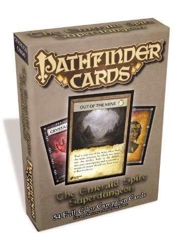 9781601256591: Pathfinder Cards: The Emerald Spire Superdungeon Campaign Cards Deck