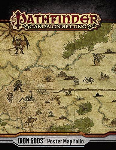 9781601257192: Pathfinder Campaign Setting: Iron Gods Poster Map Folio