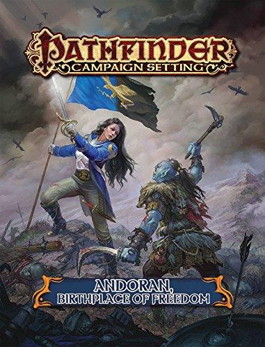 Pathfinder Campaign Setting: Andoran, Birthplace of Freedom: Staff, Paizo