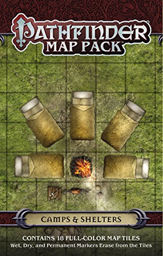 9781601257598: Pathfinder Map Pack: Camps & Shelters