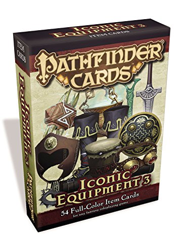 Pathfinder Cards: Iconic Equipment 3 Item Cards Deck: Staff, Paizo
