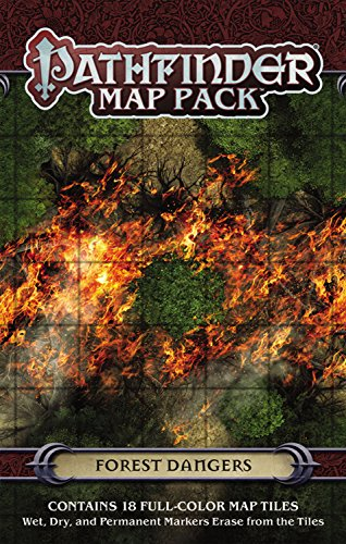 9781601257703: Pathfinder Map Pack: Forest Dangers