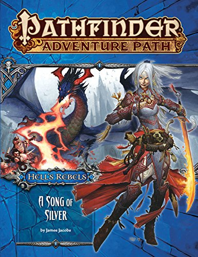 9781601257956: Pathfinder Adventure Path: Hell's Rebels Part 4 - A Song of Silver